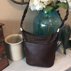 Brighton Shoulder Bag Handbag Purse Saddle leather